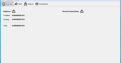 synchronize bitcoin core wallet