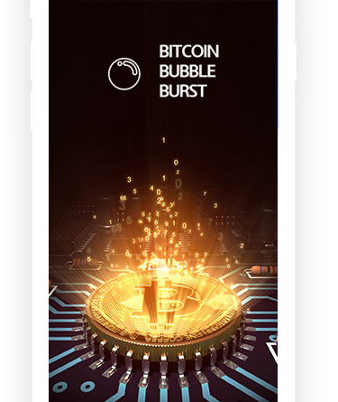 bitcoin bubble app